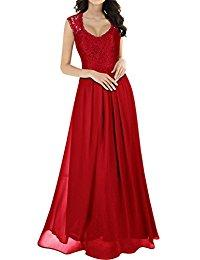 Amazon robe rouge