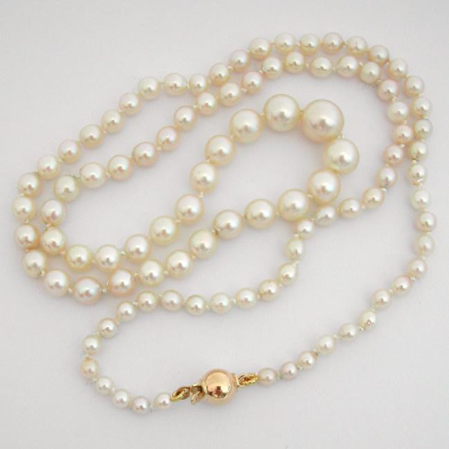 Collier de perles fines occasion