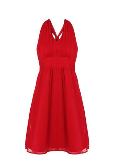 Etam robe rouge