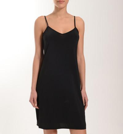 Fond de robe noir long