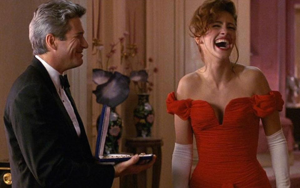 Julia roberts pretty woman robe rouge