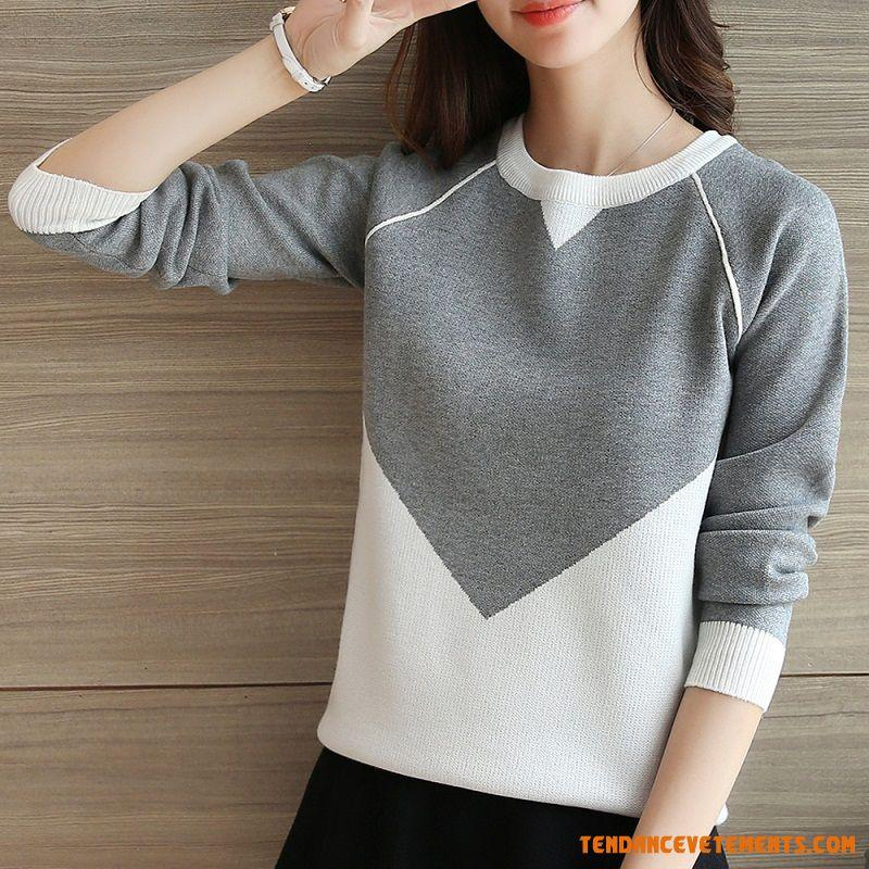 Pull hiver femme pas cher