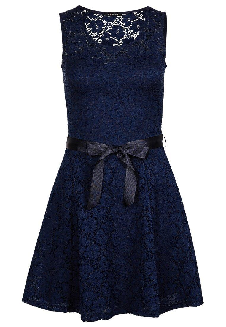 Robe bleu morgan