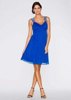Robe bleu paillette