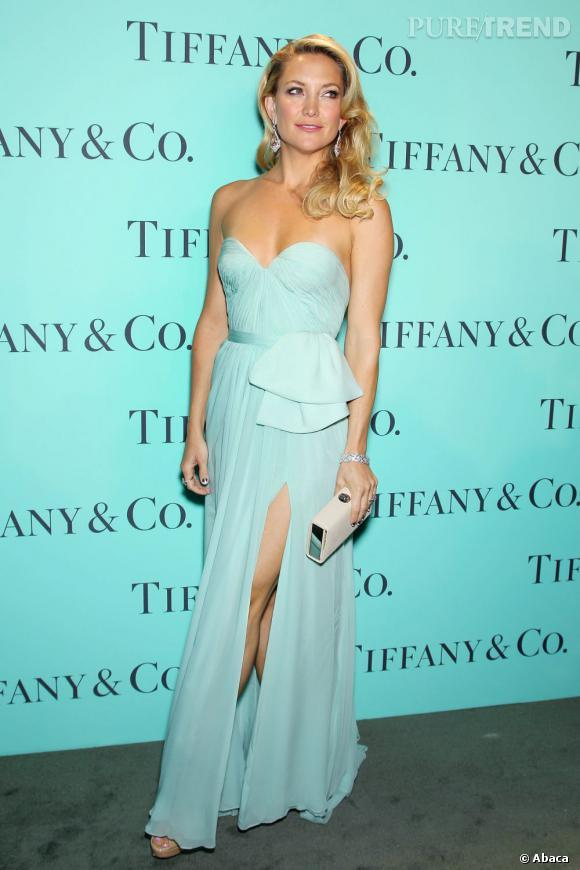 Robe bleu tiffany