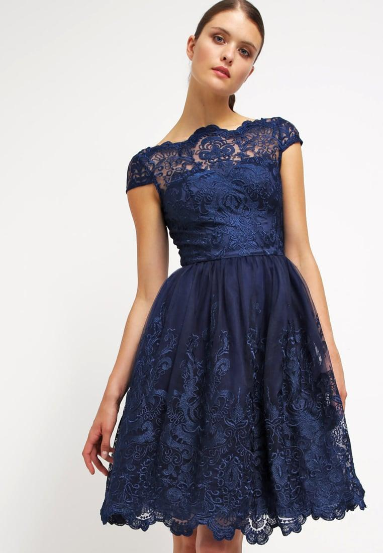 Robe chichi london bleu