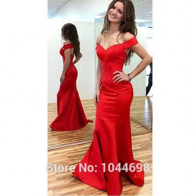 Robe de fete rouge