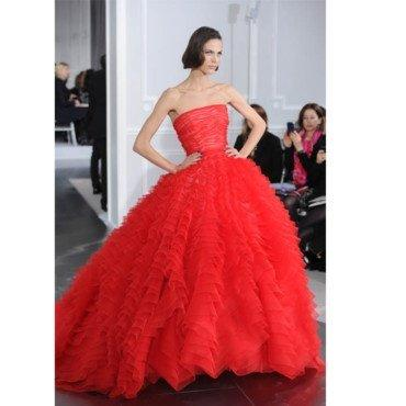 Robe dior rouge