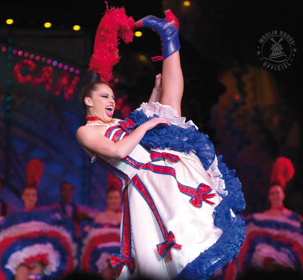 Robe french cancan moulin rouge