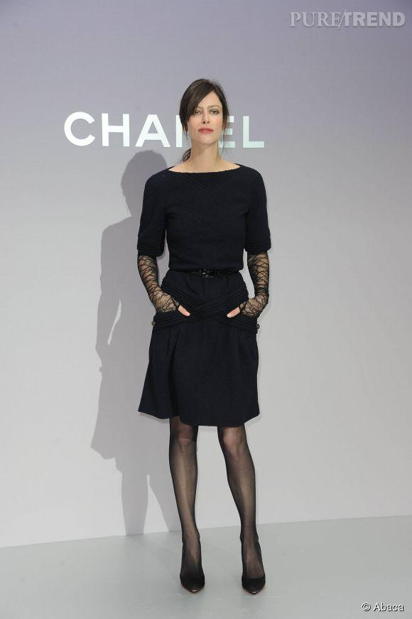 Robe noir chanel