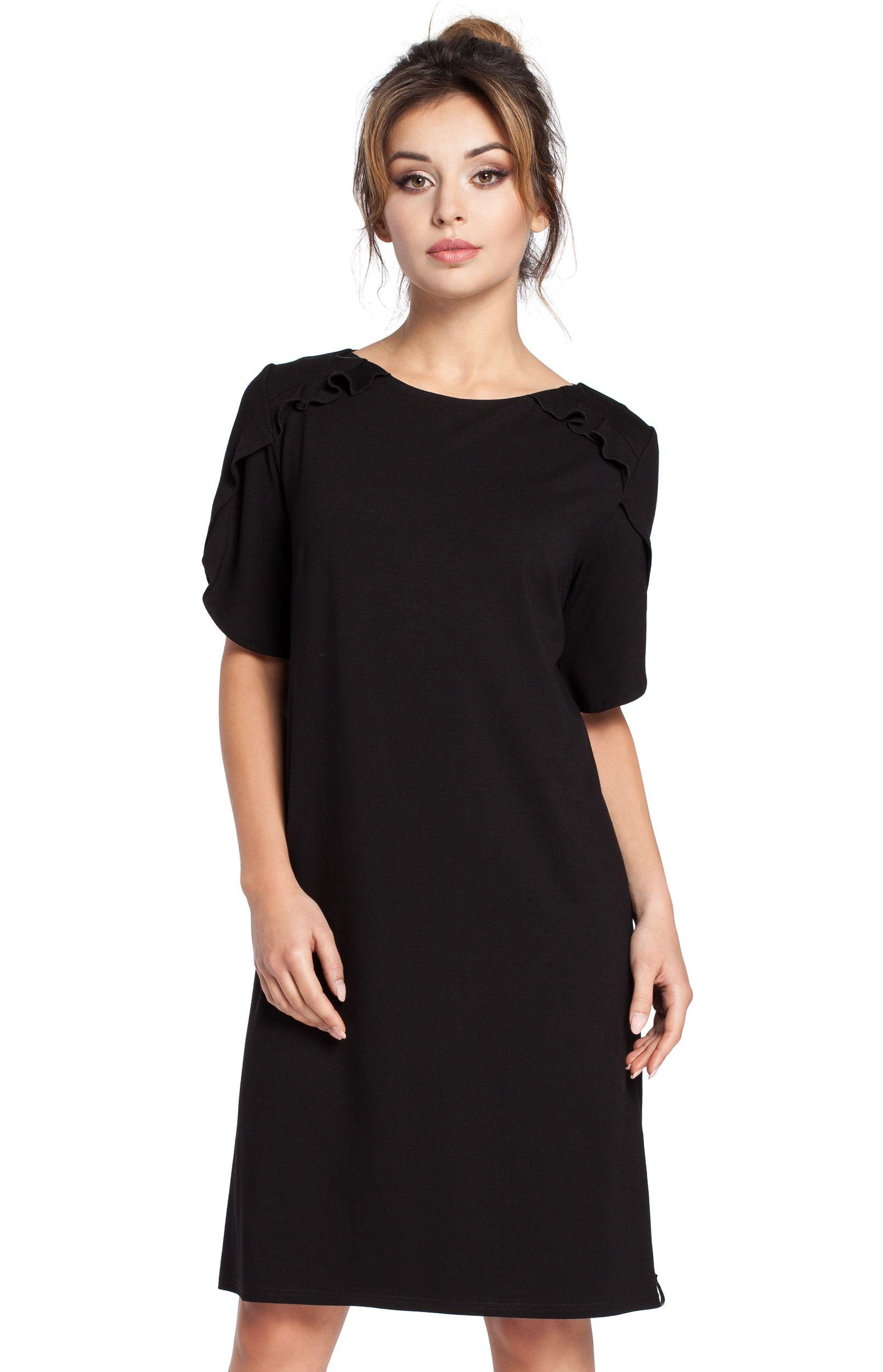Robe noir simple chic