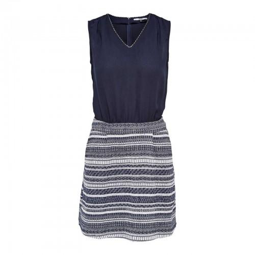 Robe only bleu marine