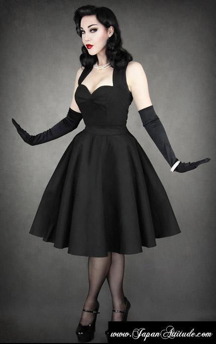 Robe pin up noir