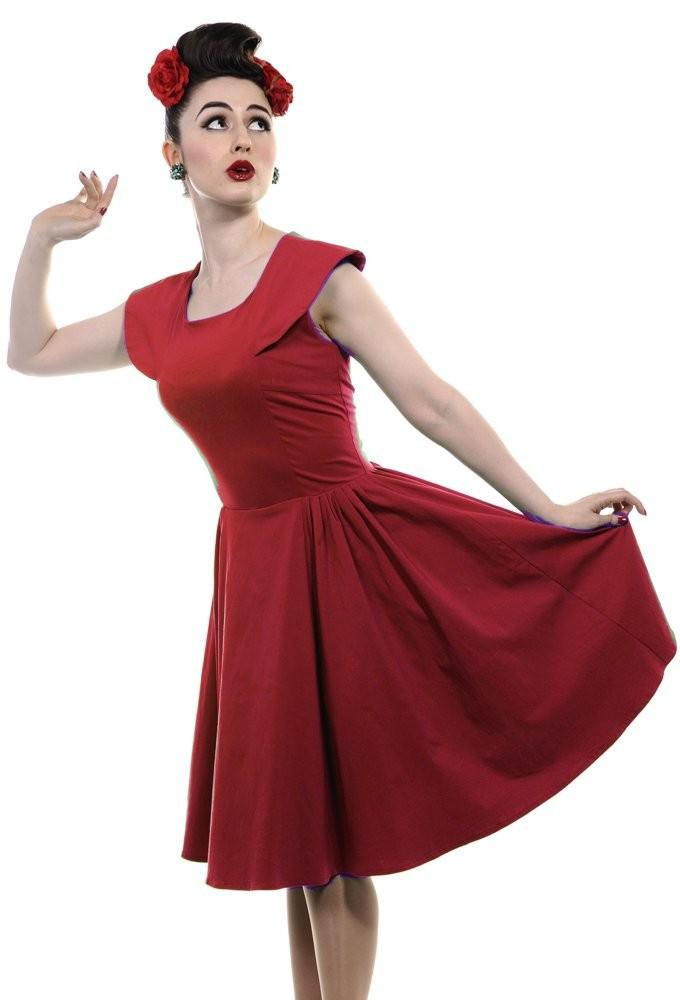 Robe pin up rouge