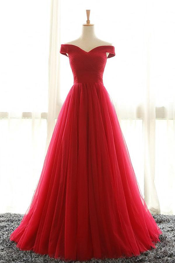 Robe princesse rouge
