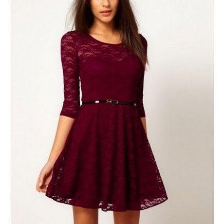 Robe rouge ado
