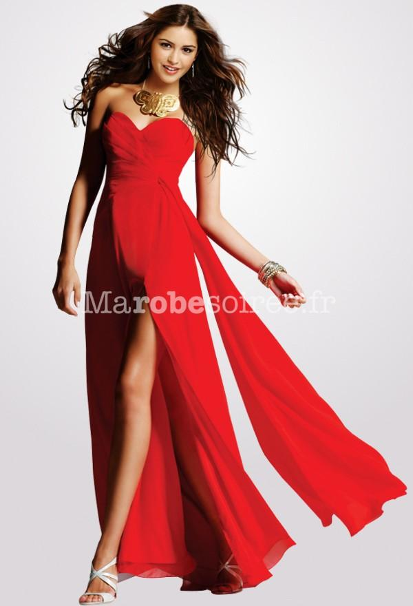 Robe rouge classe