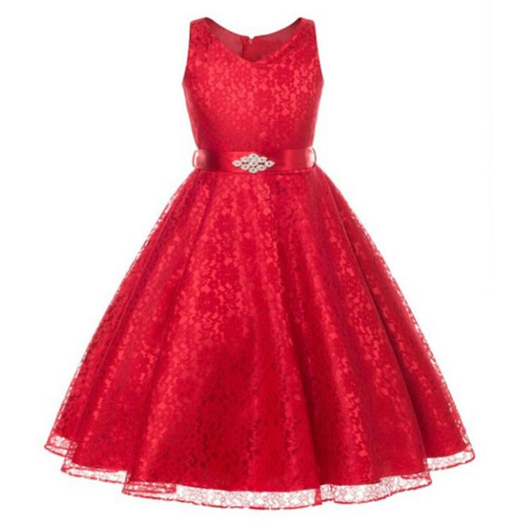 Robe rouge dessin