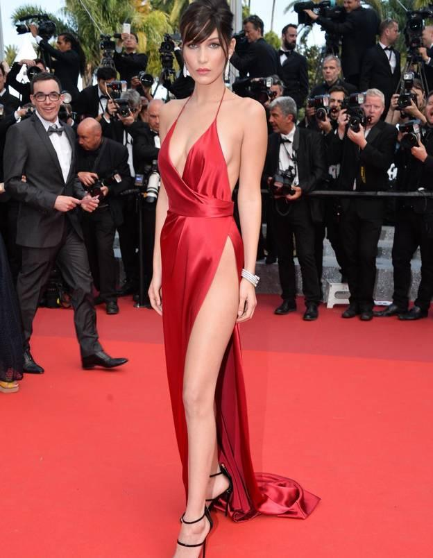 Robe rouge festival de cannes