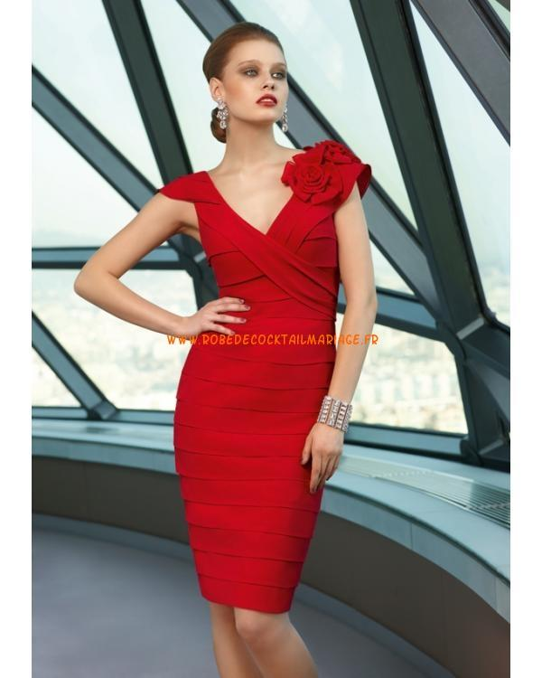 Robe rouge glamour