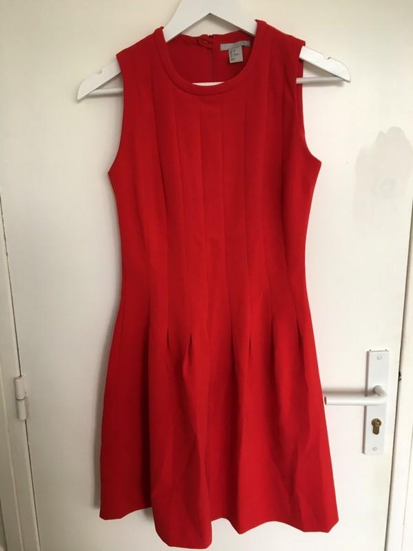 Robe rouge h&m