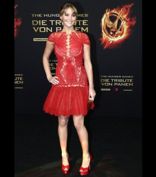 Robe rouge jennifer