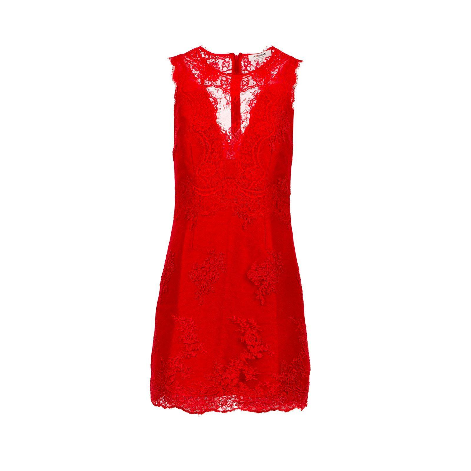 Robe rouge morgan