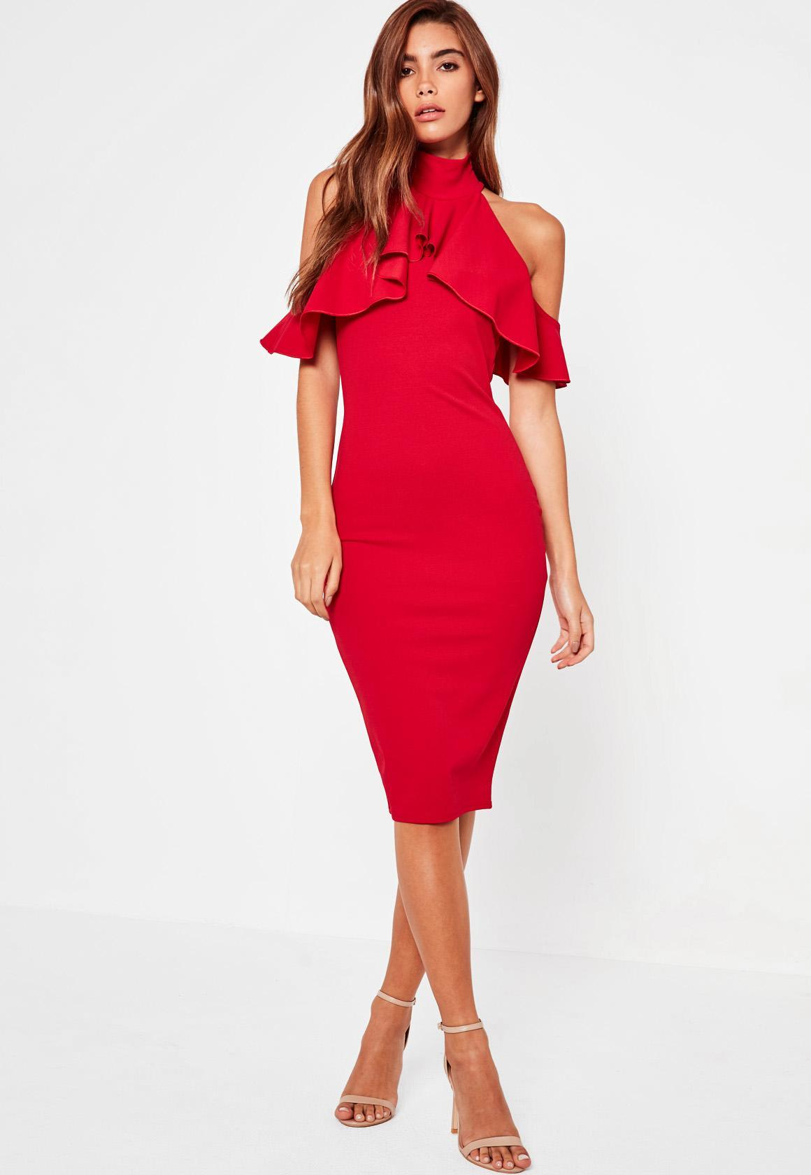 Robe rouge pour mariage