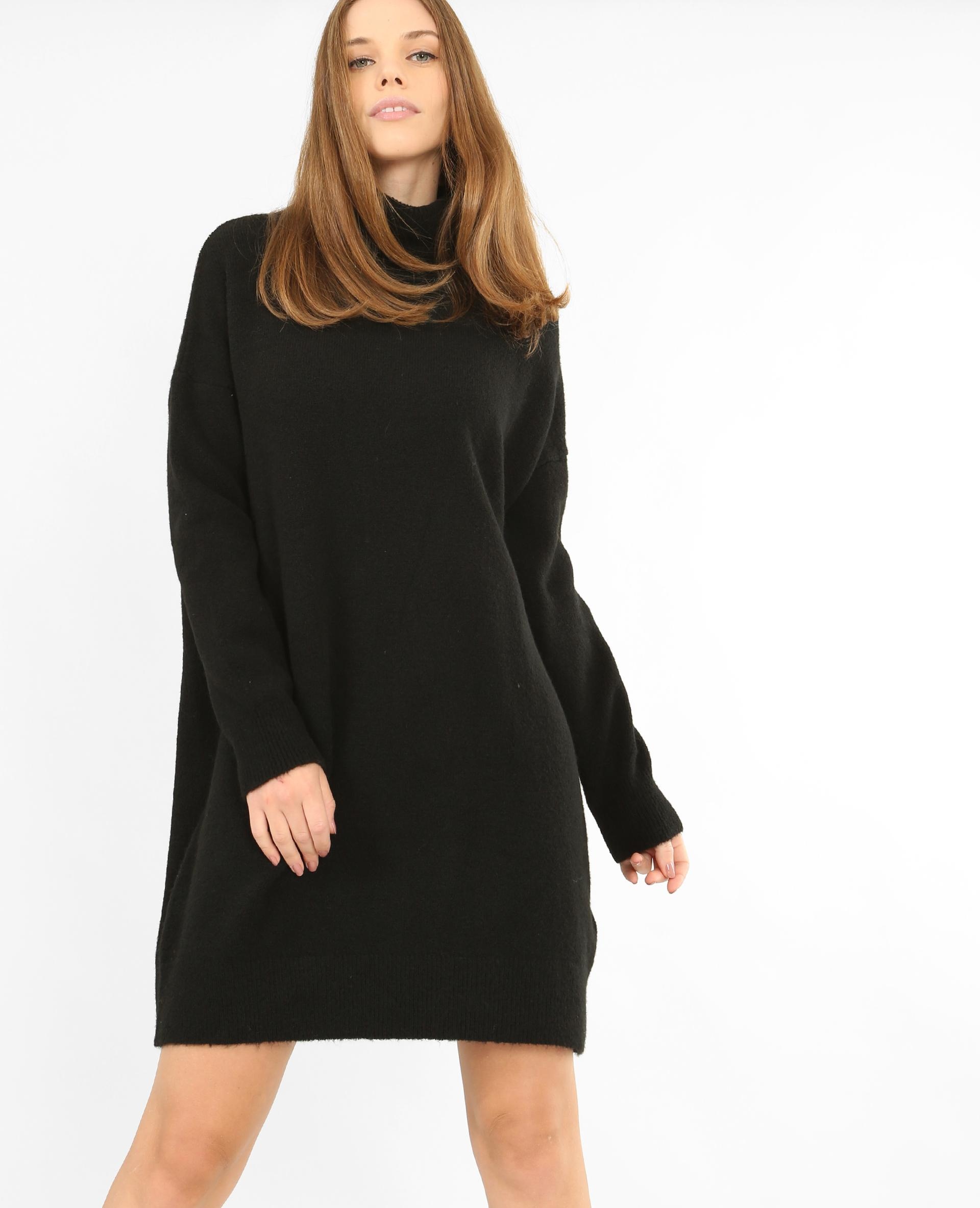 Robe sweat noir