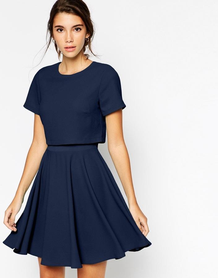 Asos robe bleu