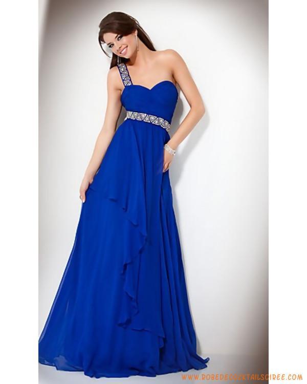 Belle robe bleu