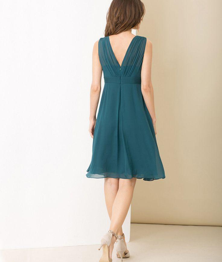Bleu canard robe