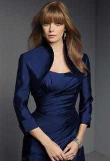 Boléro bleu marine pour robe
