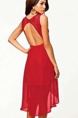 Bon prix robe rouge