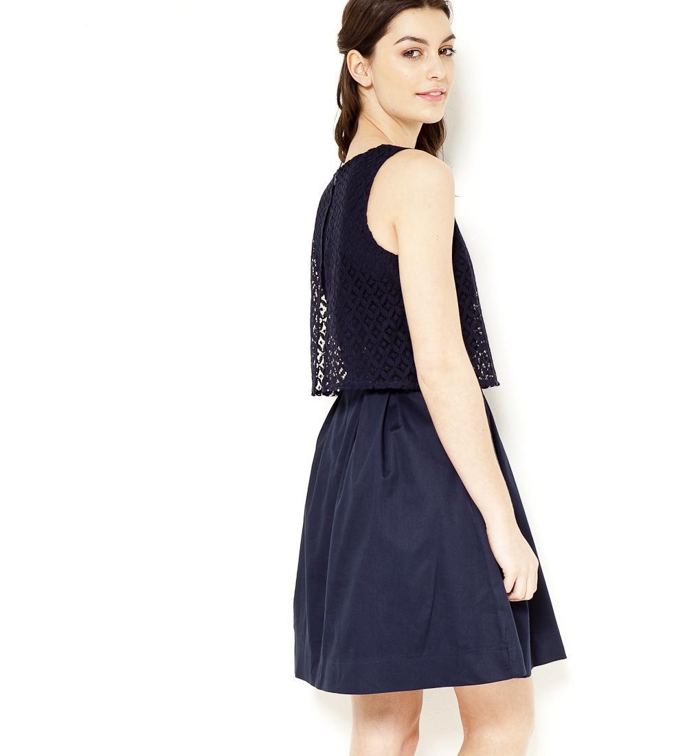 Camaieu robe bleu marine