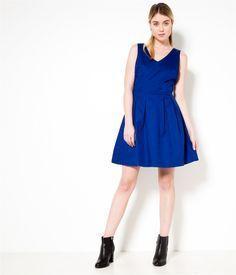 Camaieu robe bleu
