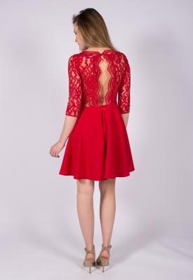 Claudie pierlot robe rouge
