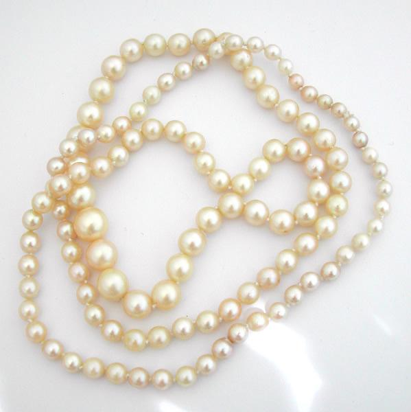 Collier de perles fines occasion