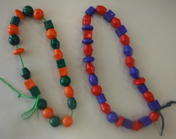 Collier de perles maternelle
