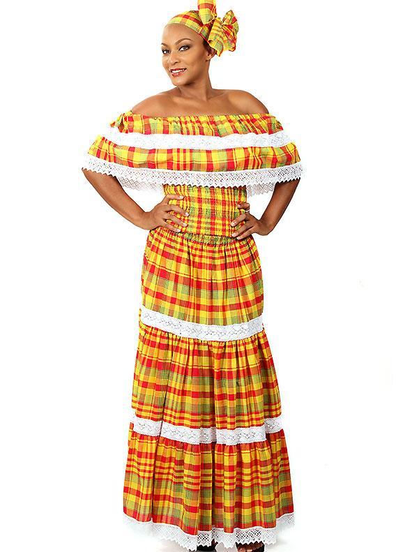 Costume créole femme