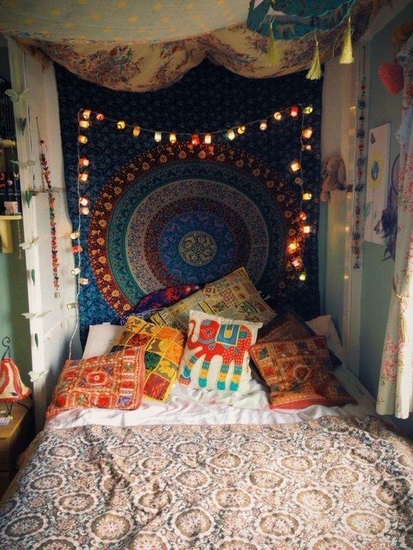 Deco chambre hippie
