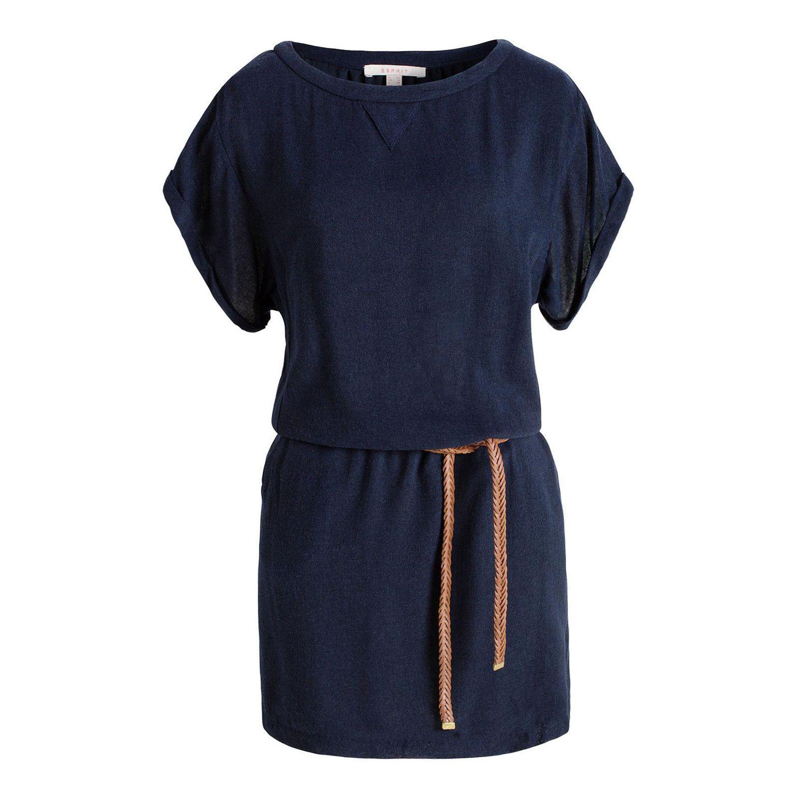 Esprit robe bleu marine