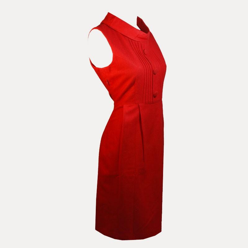 Esprit robe rouge