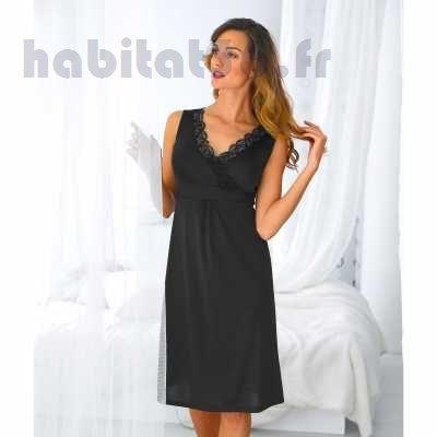 Fond de robe antistatique noir