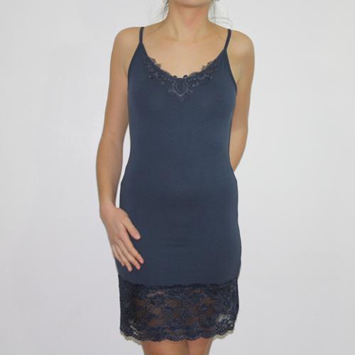 Fond de robe bleu
