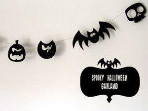 Guirlande halloween a faire soi meme