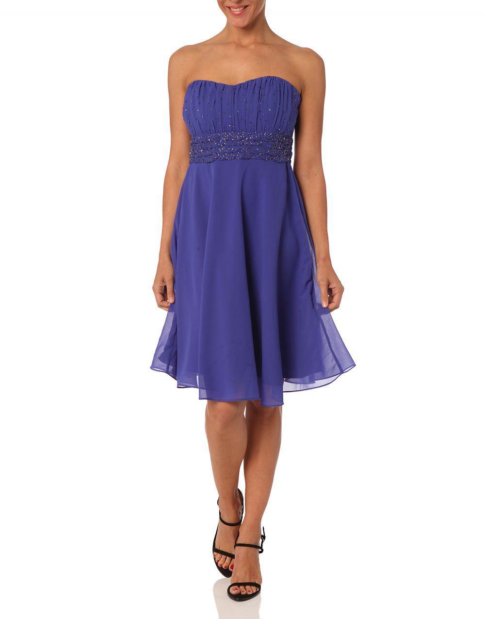 Jacqueline riu robe bleu