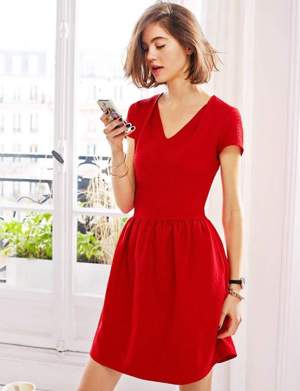 La redoute robe rouge