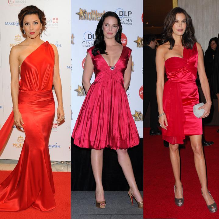 La robe rouge