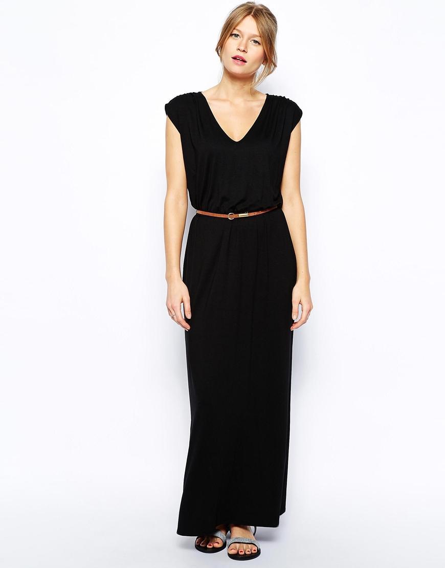 Maxi robe noir